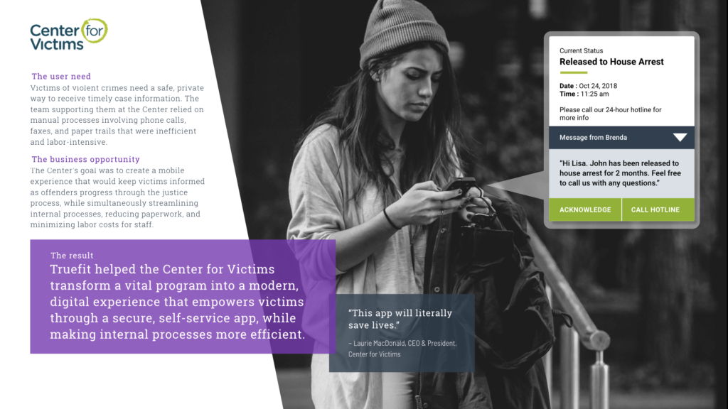Full Circle App – Center For Victims